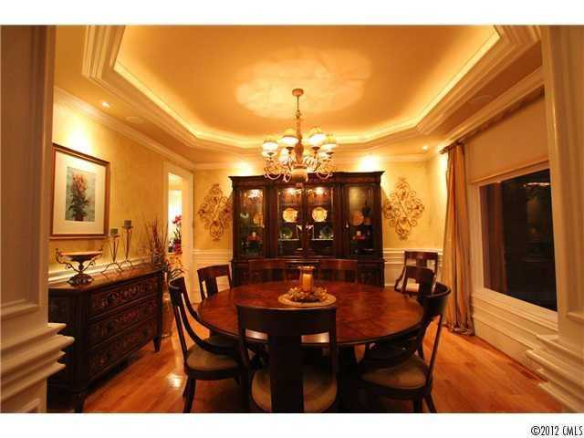 Formal Dining Room with trey ceiling
