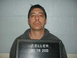 Jason Lee Zeller, charged with 1 count of conspire to traffic opium/heroin and 3 counts of trafficking.