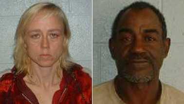 Rose Hagler, left, and Zealous Hagler, right (Yadkin County Sheriff's Office)