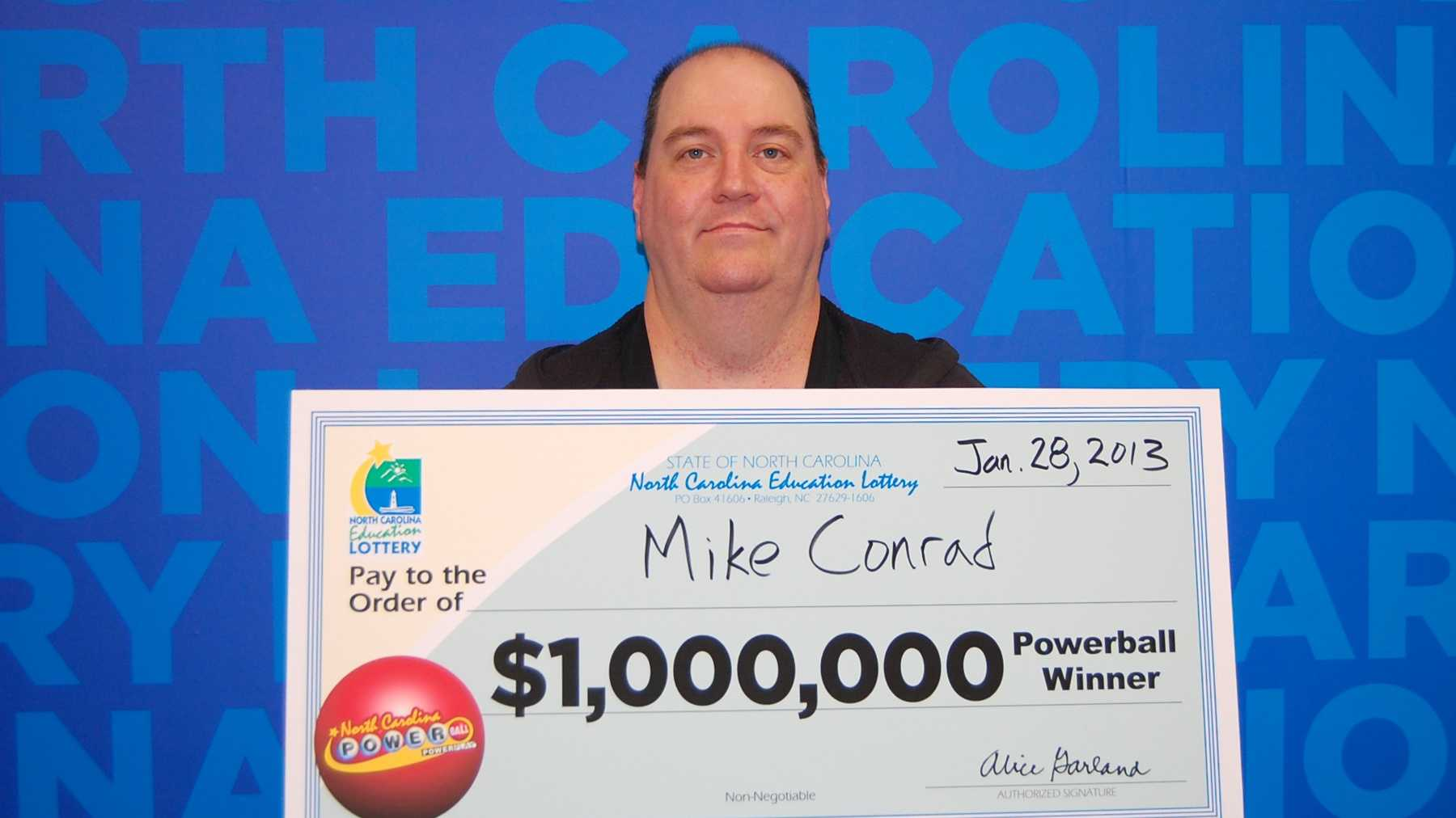 Mike Conrad (North Carolina Education Lottery)
