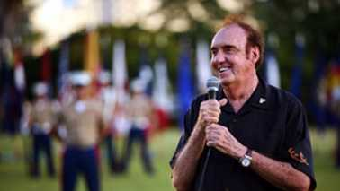 Jim Nabors was named an honorary corporal of the Marines in 2007. (United States Marines official photo)