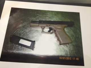 This gun was among the eight seized at the TSA security checkpoint at PTI Airport over the past few months. | Watch Nicole Ducouer's story