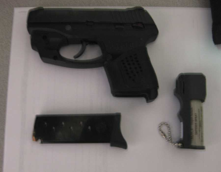 The most recent discovery was this loaded 9mm pistol on Monday. Those who bring guns to a checkpoint face fines of at least $3,000.