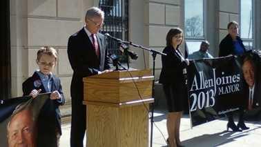 Allen Joines 2013 re-election bid