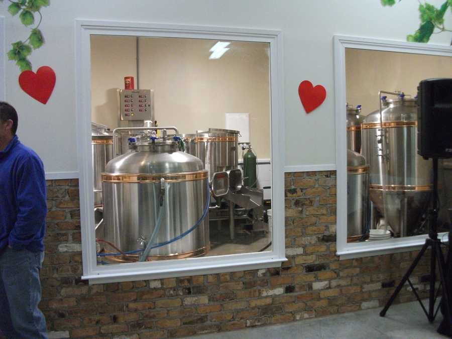 While touring the vineyards and this brewhouse you will see how they make the wines and beers. (Westbend Vineyards and Brewhouse)