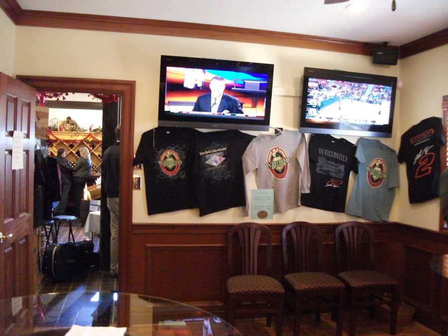 """The new """"Tap Room"""" at Westbend Vineyards and Brewhouse even has televisions and freshly brewed beers for the bachelor party to enjoy. Maybe the ladies will enjoy it too."""