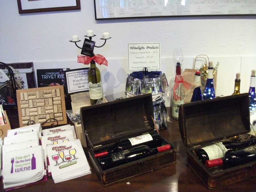 Wedding party gifts are easy to find with so much to choose from and everyone will be open to tell what they like after wine tasting. (Westbend Vineyards and Brewhouse)