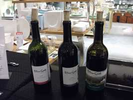 Elkin Creek Vineyards shows up at some of the wedding shows to give out information on their winery and taste testings.