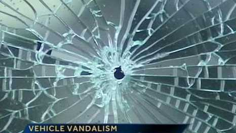 Vehicle vandalism in Winston-Salem