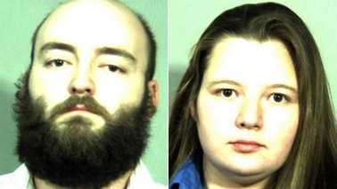 Joseph Jones, left, and Amanda Thomas, right (Courtesy The Carroll News)