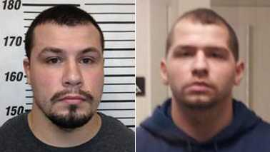 Zachary Carr, left, and James Knight, right (Montgomery County Sheriff's Office)