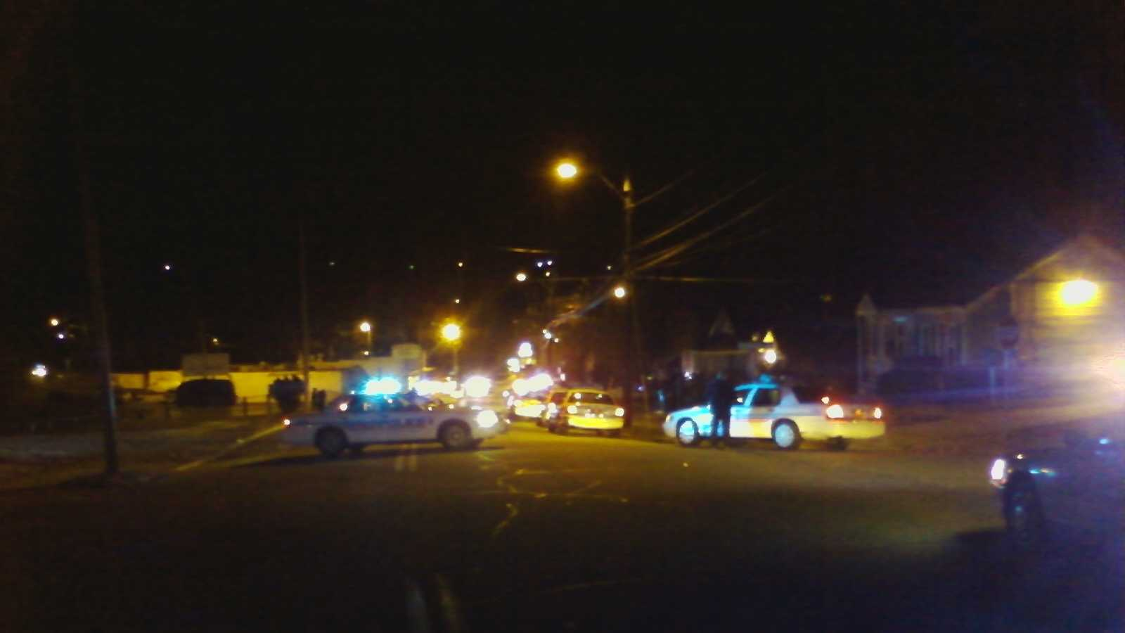 Winston-Salem police are still investigating. (Photo by WXII's David Efird)