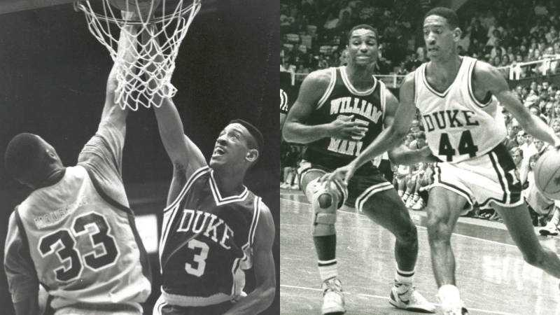 Phil Henderson played on a 1990 Duke team that reached the NCAA title game. (Courtesy Duke Sports Information)