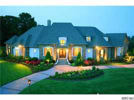 This three acre estate located in Mooresville is priced at $1,100,000.