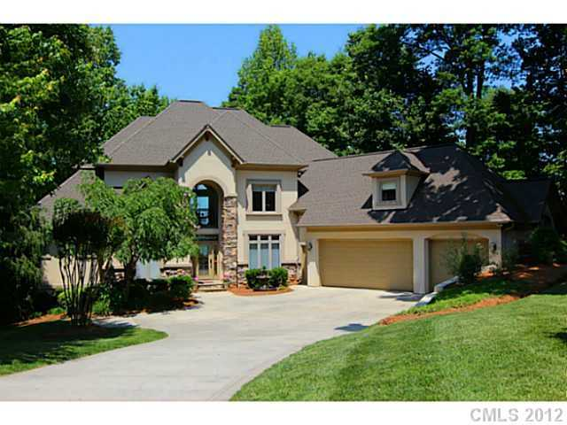 This four bedroom lakefront property is located in Mooresville and priced at  $1,050,000.