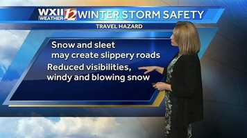 The conditions could make for a dicey morning commute.