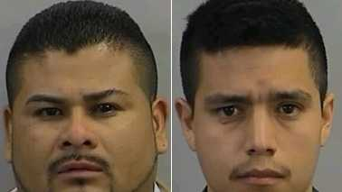 Ruben Garcia, left, and Luis Albarran-Cruz, right (Randolph County Sheriff's Office)