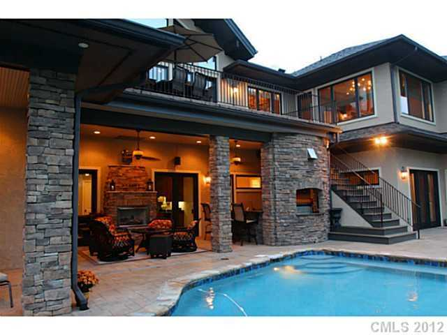 Rear Exterior with Swimming Pool