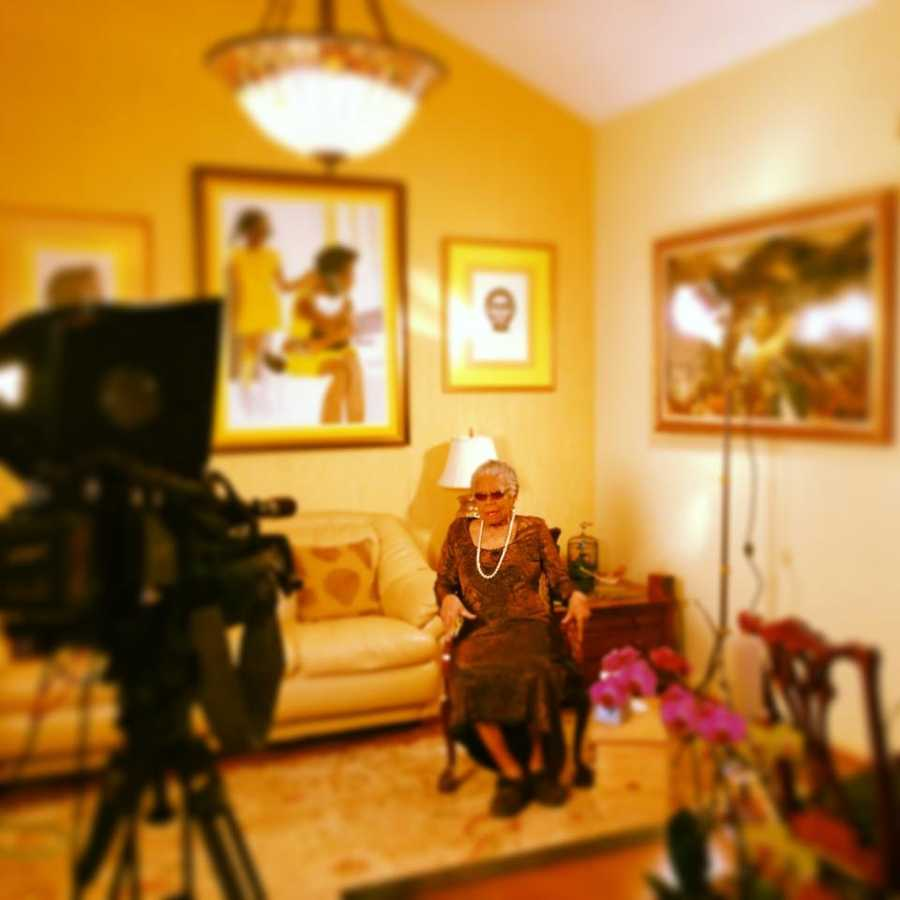 Thanks for checking out the photos! We appreciate Maya Angelou taking the time to visit with us!