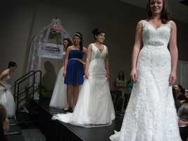 Wedding Shows are a great place to go and see fashion shows to see what you may want as far as wedding attire for everyone in the wedding party.