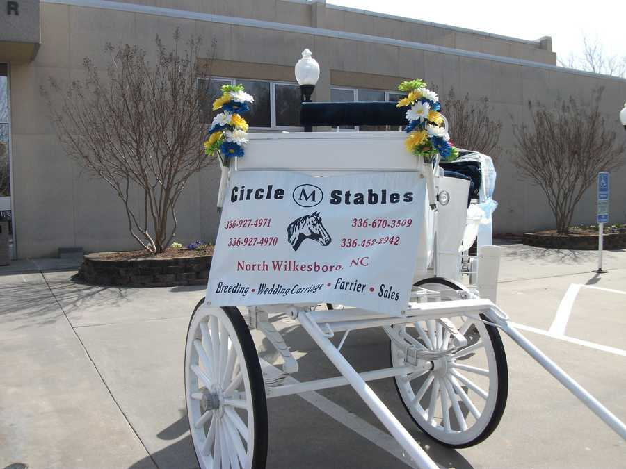 Circle M Stables will make a great Country/Western wedding theme entrance for any bride to your wedding ceremony or exit for the newlyweds.