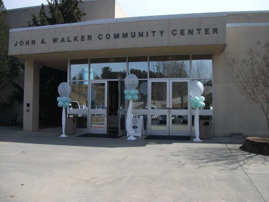 The John A. Walker Center in Wilkesboro was the venue for The Wilkes Wedding Expo. The center has many facilities for weddings and receptions.
