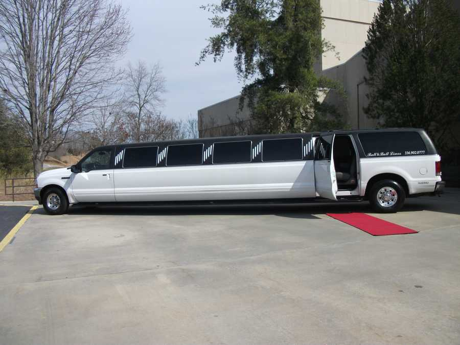 Ball & Ball, Enterprises Inc. can give you an entrance to remember to your wedding and/or can be used to bring in wedding guests. (Mostly immediate family and the wedding party).