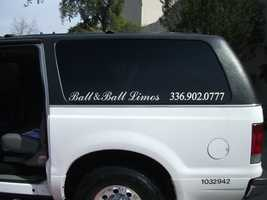 Ball & Ball, Enterprises Inc. can help you make that getaway to the reception after the ceremony.