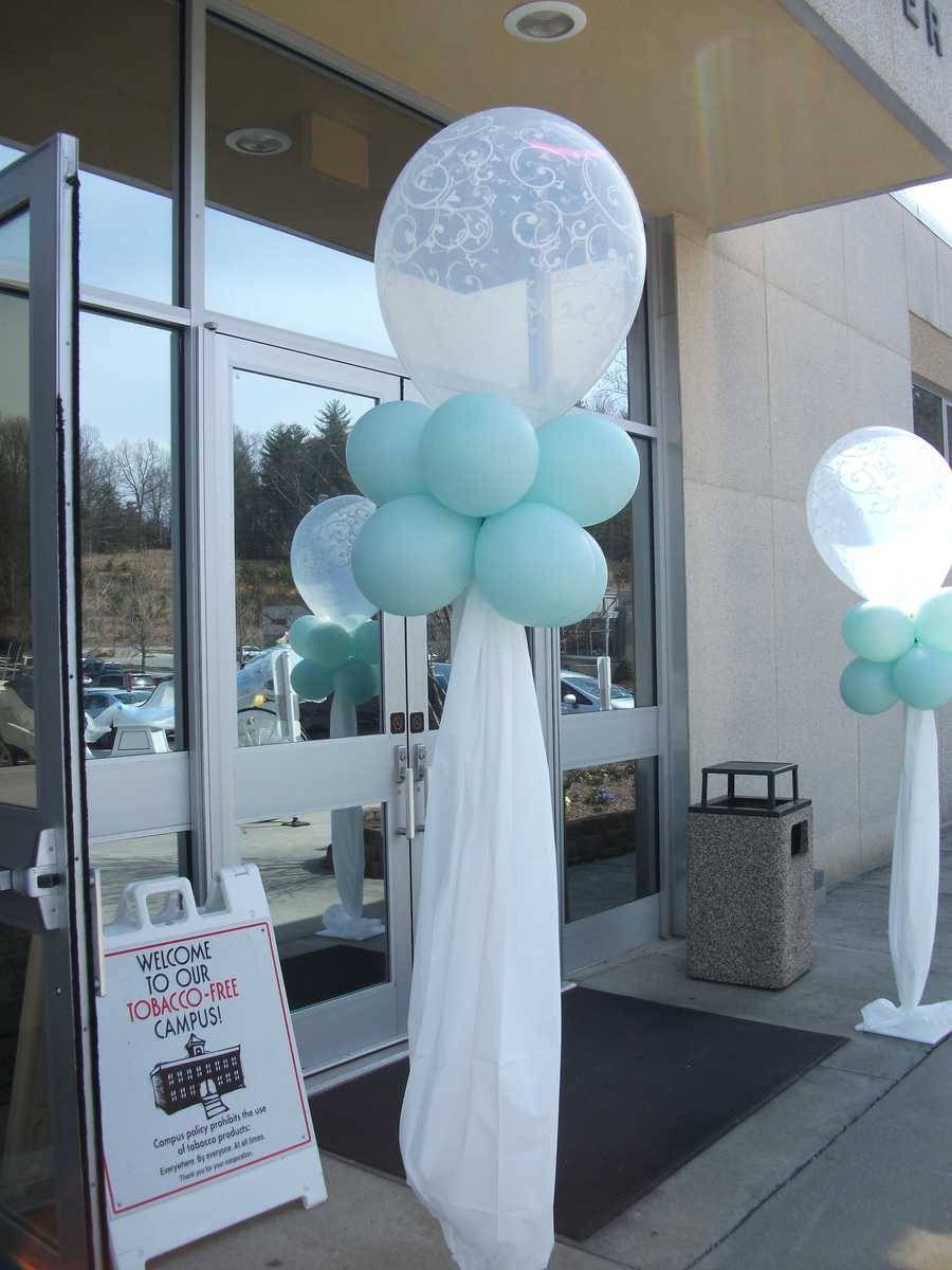 The Candy Company even decorated the front of the John A. Walker Center. Do it yourself and save on the wedding budget with the help of this party supply store.