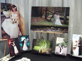 Some of the work of Jean Moree Photography was featured in the booth.
