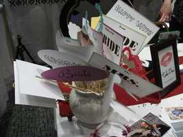 Hampton Inn Wilkesboro vendors had a few props for the wedding show guests to enjoy.