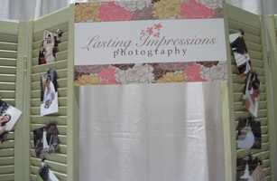 Lasting Impressions Photography had a very nice booth with their work displayed on dividers.