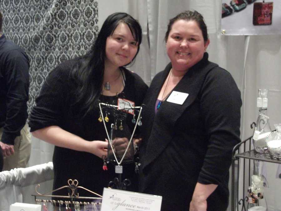 Allie Cat Jewelry was present to discuss their gifts with future brides, grooms and wedding guests.