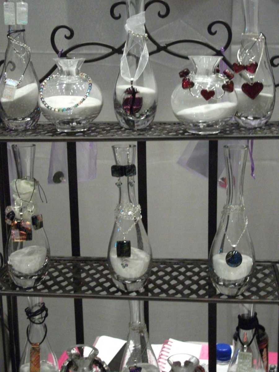 Allie Cat Jewelry has several gifts that the couples could get each other something for their special day.