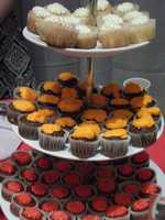 The Cake Lady had several flavors and samples for everyone to enjoy.