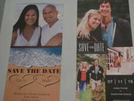 The photos can be used in invites for the bachelorette, bachelor, wedding shower parties as well as the rehearsal, wedding and reception invitations. Click here : The Journal Patriot then contact (caroline@journalpatriot.com)
