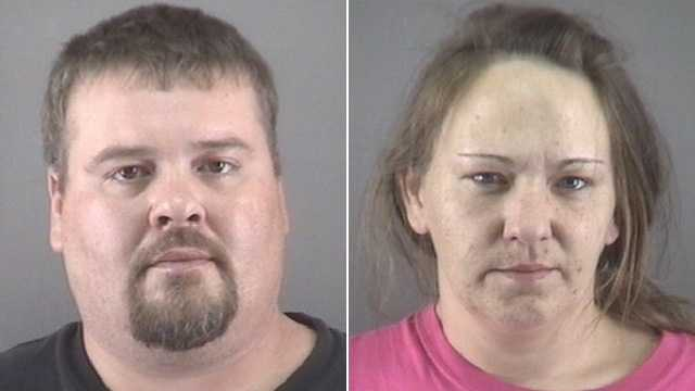 David Salter, left, and Cathy Salter, right (Forsyth County Sheriff's Office)