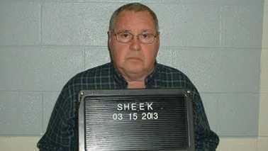 James Larry Sheek Sr. (Yadkin County Sheriff's Office)