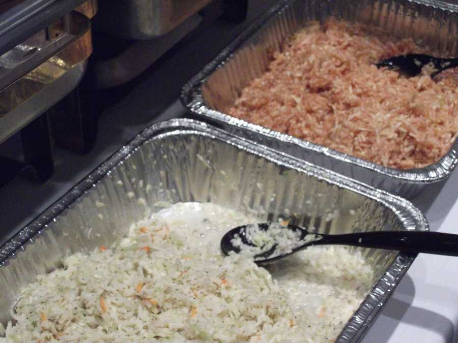 Tiptons Barbecue had two kinds of slaw for the guests to enjoy. Something like these types of foods would go well for a Country/Western theme. Also think about food for your wedding shower or rehearsal dinner.