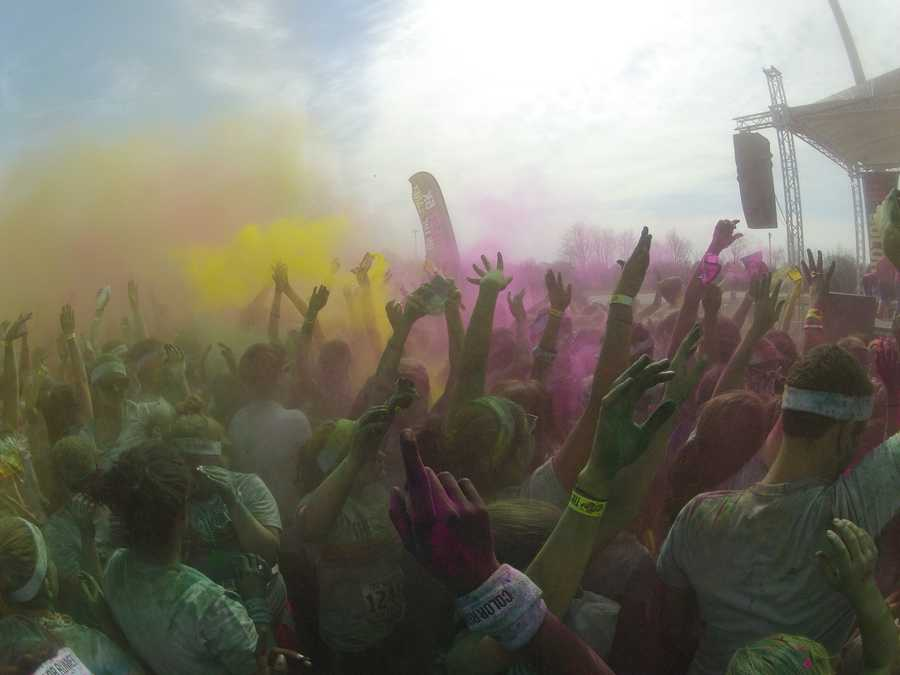 One of the most colorful 5k events you'll ever see took place Saturday in Winston-Salem. Check out the great photos from WXII and from viewers. If you attended the event, upload your photos with 'u local'
