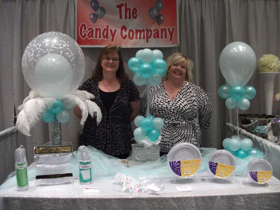 The Candy Company in North Wilkesboro was represented to talk with couples and help them with their wedding planning. (Carrie Wray - 336-838-3291)