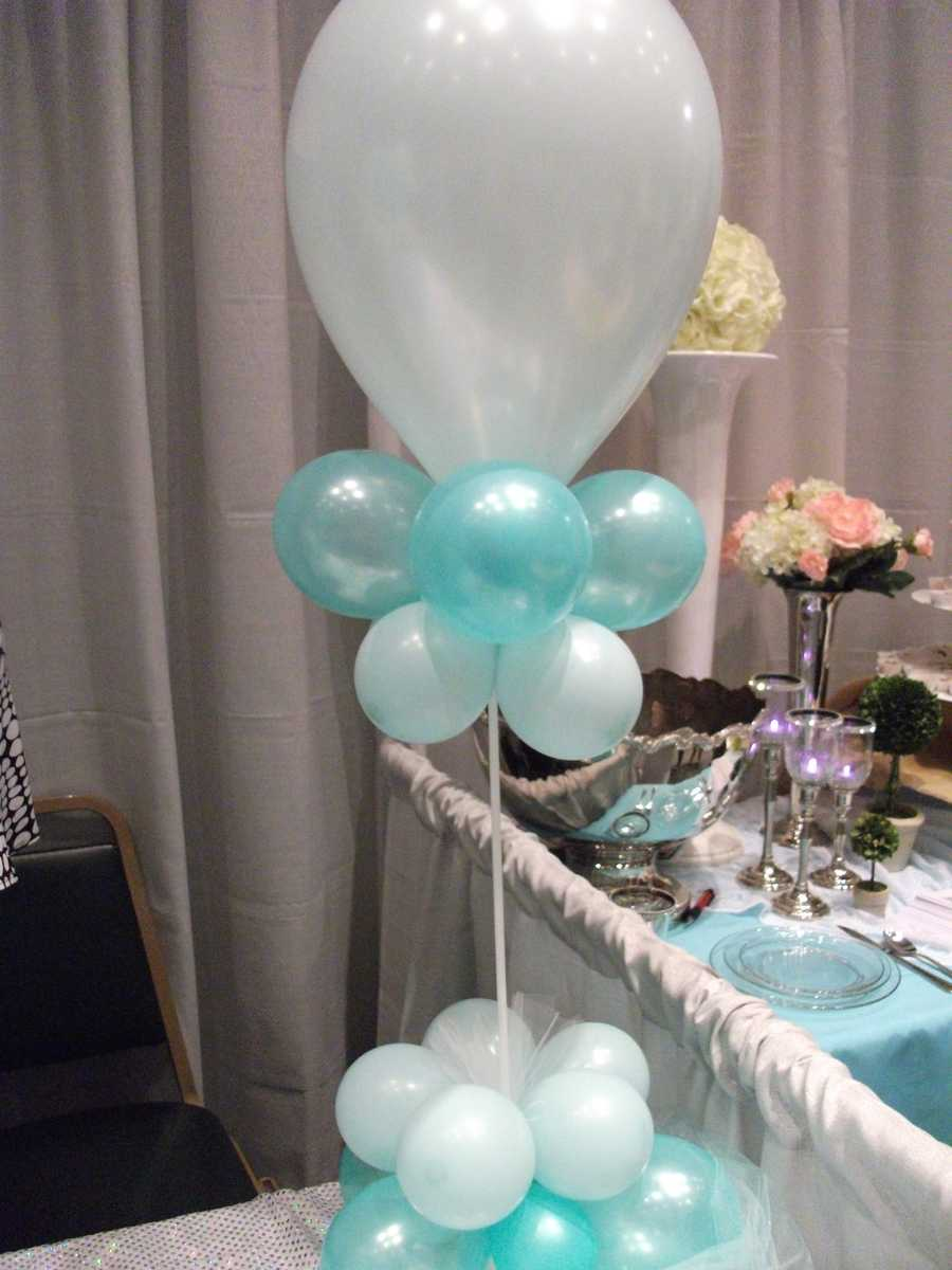 The Candy Company shows you how to decorate for all your wedding parties and reception with simple things as balloons. (Carrie Wray - 336-838-3291)