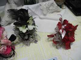 Innovative Occasions had several of these on the table that could be used as decorations at the reception tables and/or favors for the ladies to take home.