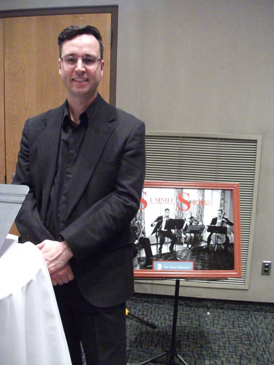 Summit Strings was present to discuss their musical talents and what they offer for the couples wedding planning.