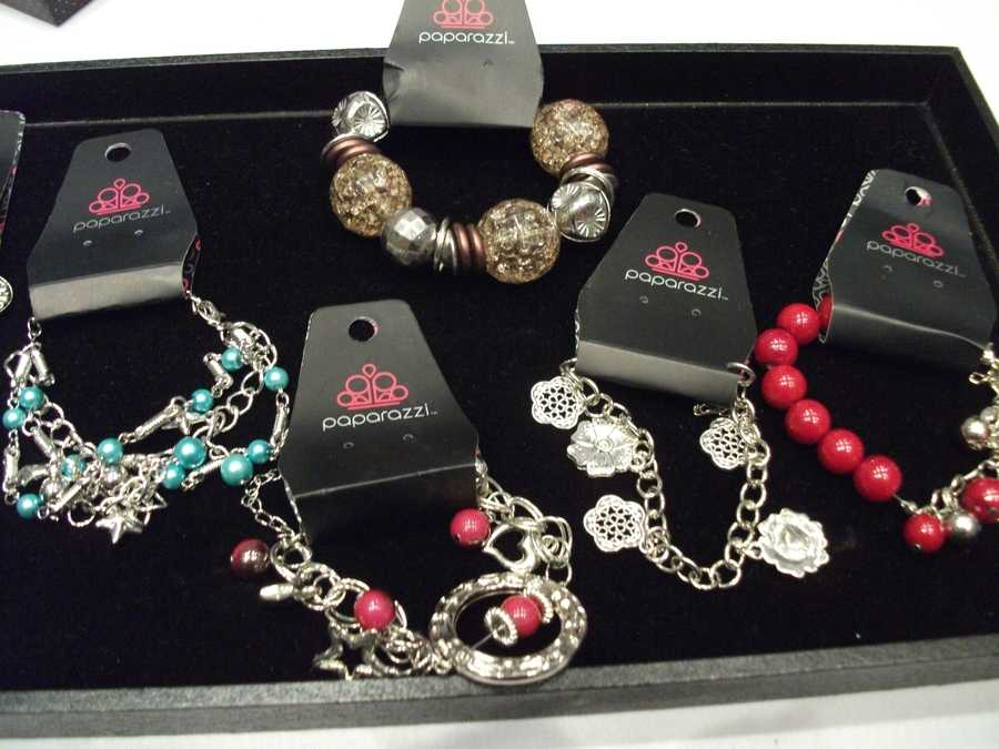 These nice bracelets would make good gifts for anyone. Paparazzi By Judy, contact: paparazzibyjudy@gmail.com.