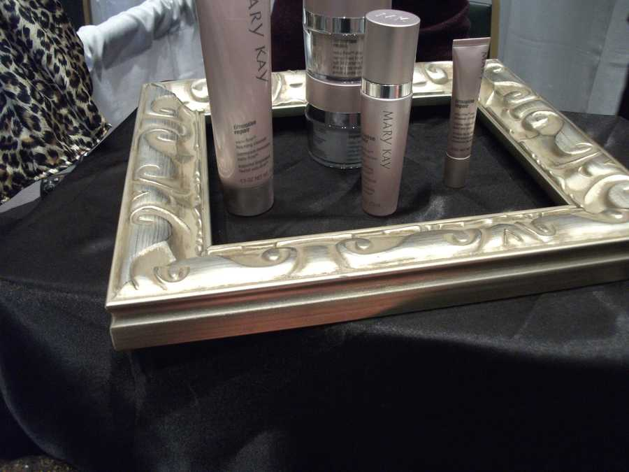 Mary Kay also had some creams that could help with skin and aging for the whole wedding party.