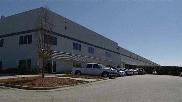 Ralph Lauren plant in Whitsett