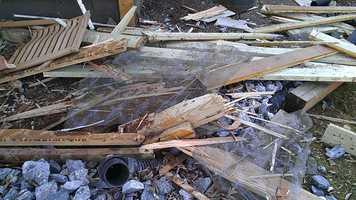Click through for more photos from the crash scene.