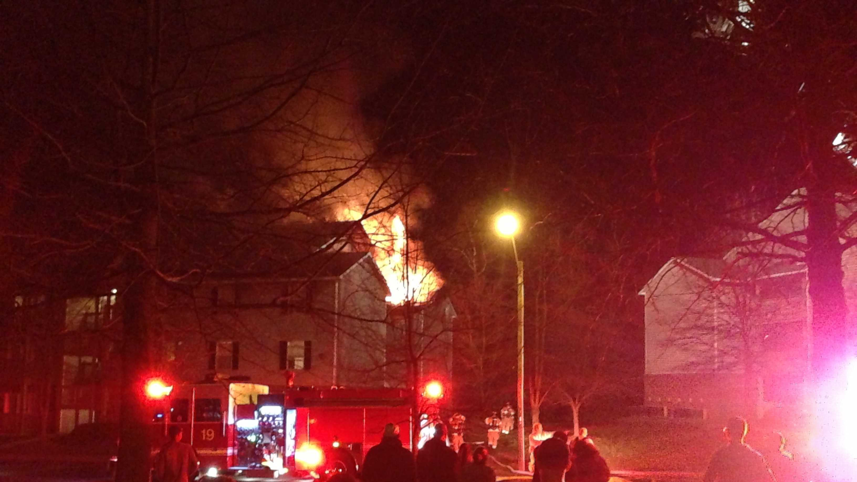 18 families displaced in Greensboro apartment complex fire
