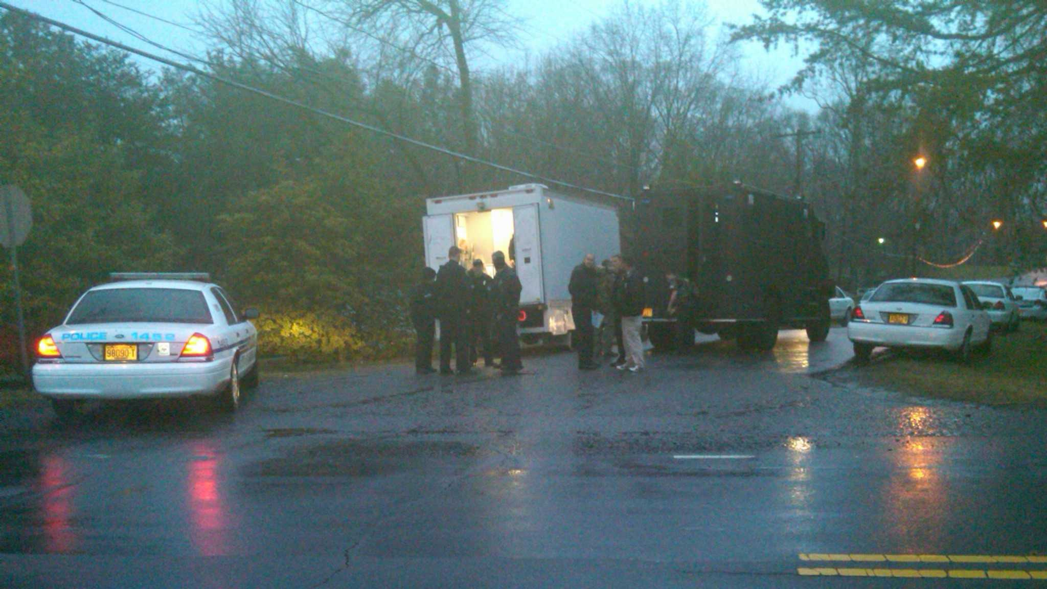 Winston-Salem police responded to a report of a gunshot inside a residence at 1105 Don Avenue.